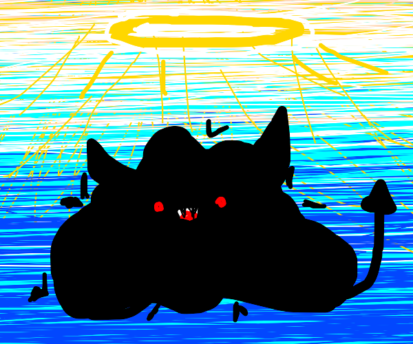 black goo monsters going to heaven