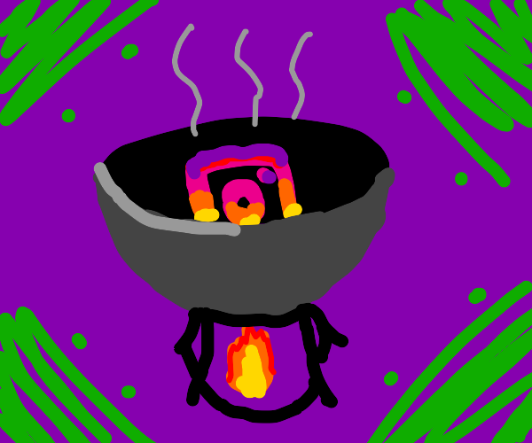 Instagram is getting cooked in a pot