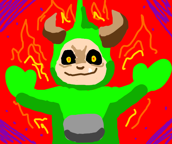 Telletubby from hell