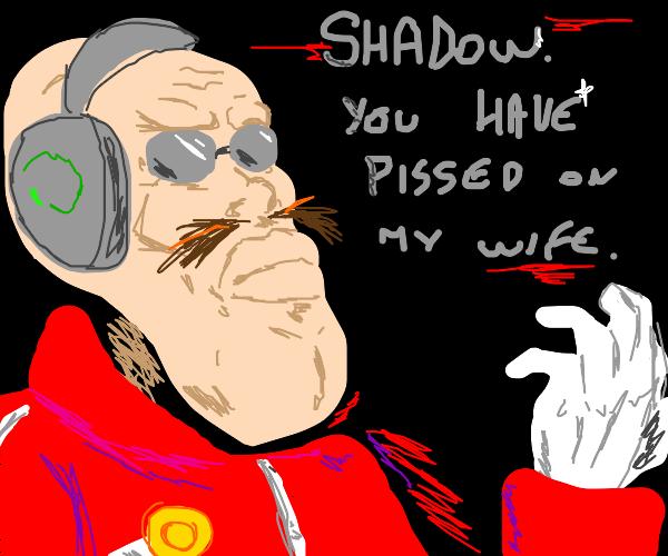 Dr. Robotnik/eggman has a voice of steel