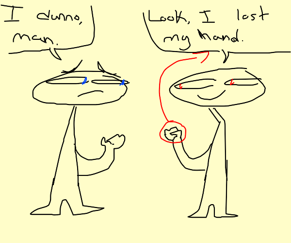 Questionable Hand Loss