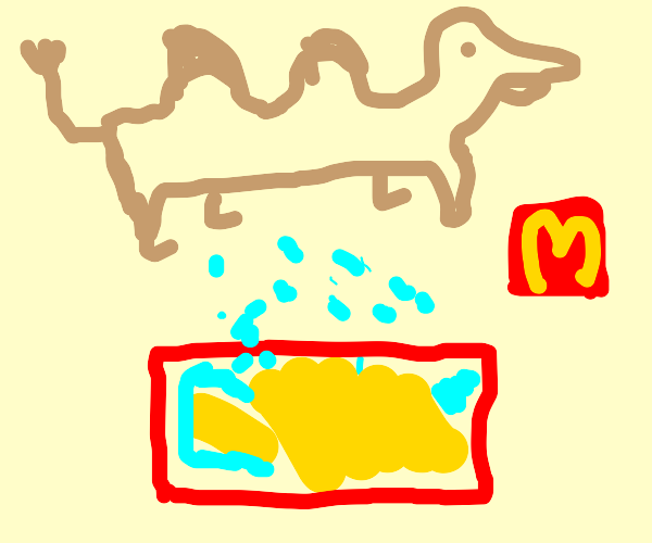 Camel sweat is used for McDonald's fries