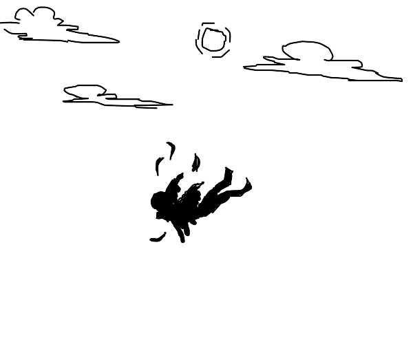 Icarus's final moments