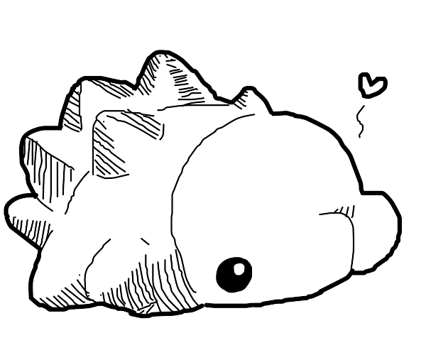 Blobfish is in love