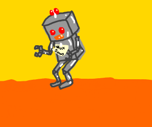 robot shut down