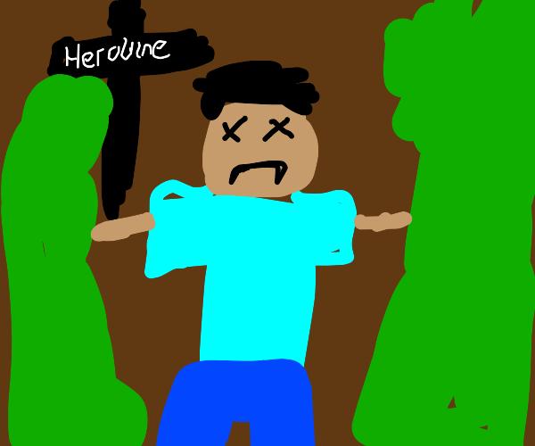 herobrine finally dies