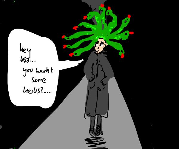Sketchy Medusa