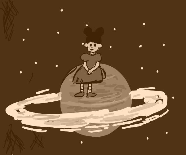 Doll on Saturn