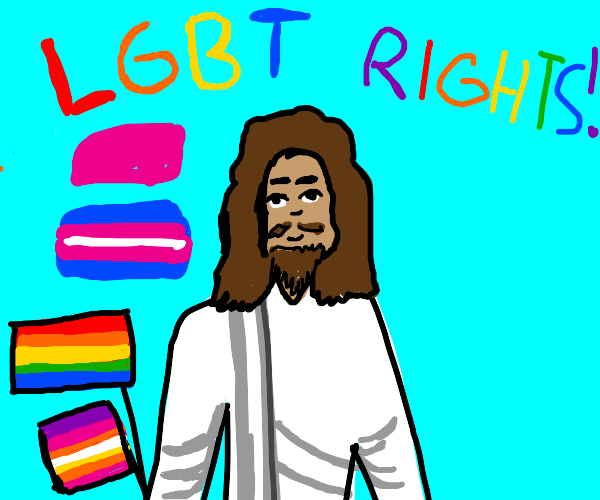 Jesus supports LGBT rights!
