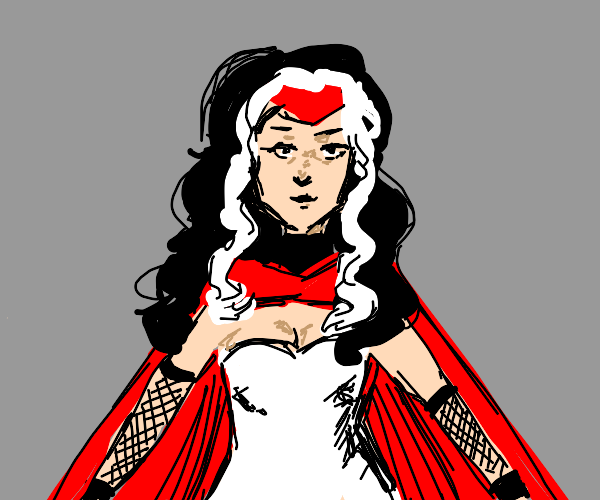 White Witch Superhero