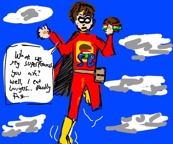 super-burger-eater-man