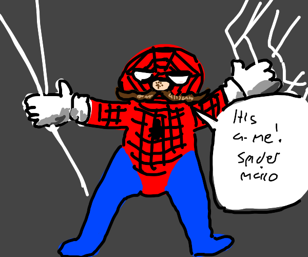 The Amazing Spider-Mario