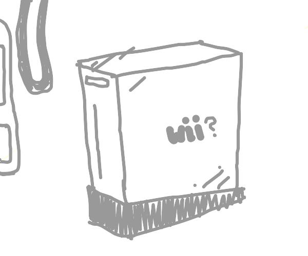 A super Nintendo entertainment system (SNES)