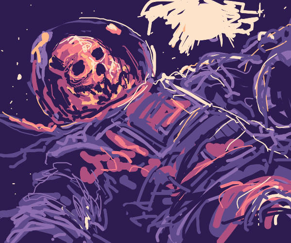 Dead spaceman