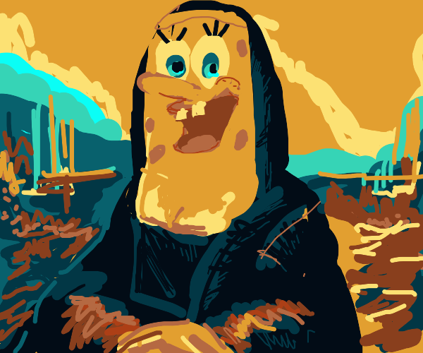 SPONGEBOB MONA LISA