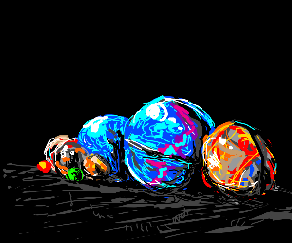 very pretty realistic marbles