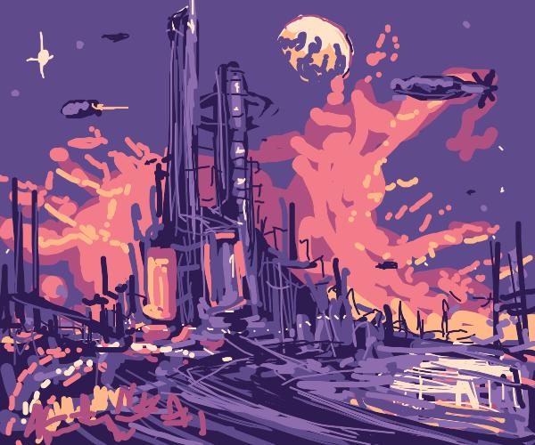Bladerunner metropolis