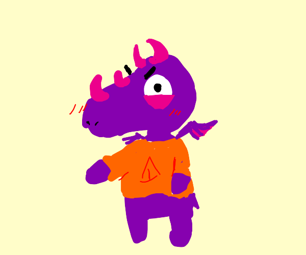 the dragon from animal crossing