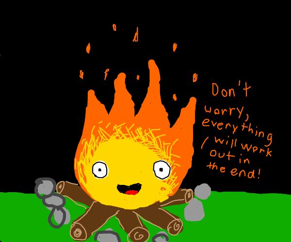 Comforting Campfire