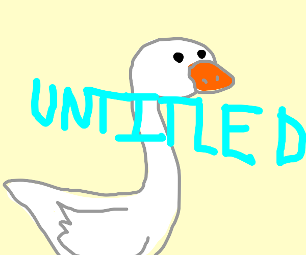 untitled goose