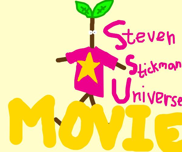 steven universe but hes a stickman