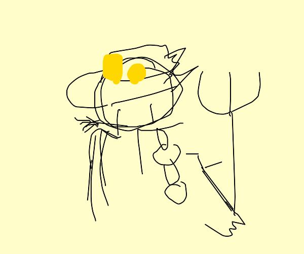 Anime protagonist as a farmer