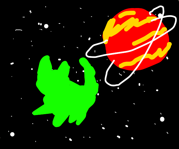 A Floof in Space.