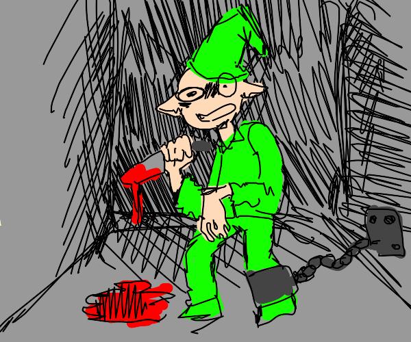 murderous elf in jail
