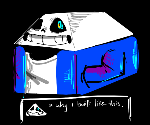 A house made of Sans