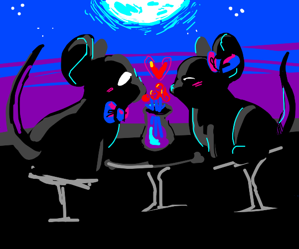mice on a date