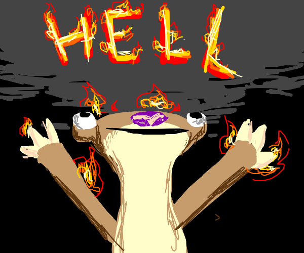 Sid from Iceage: The Burning Hell Demon