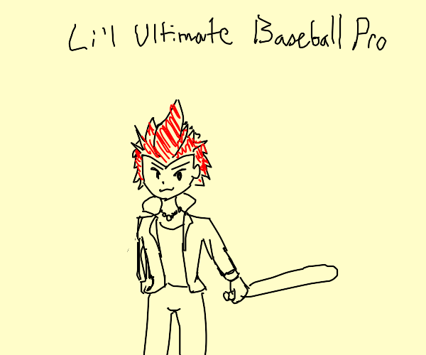 baseball pro who is an 8 year old redhead boy