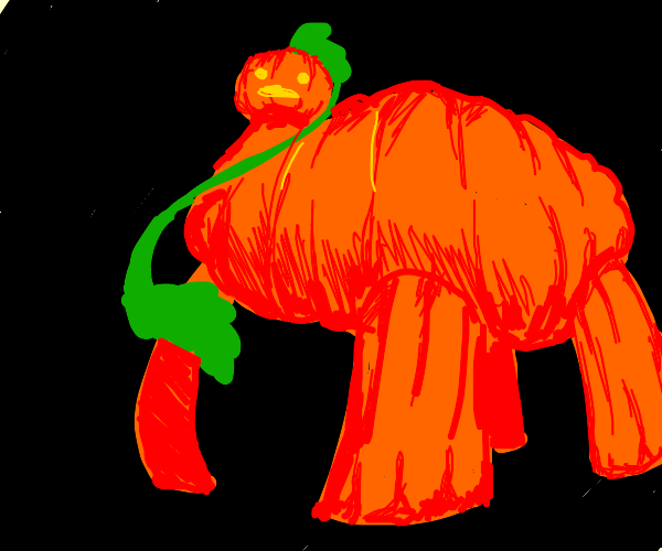 Steven universe pumkin grows up to a dinosaur