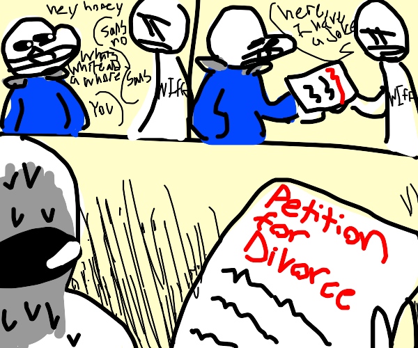 Bad puns lead to divorce