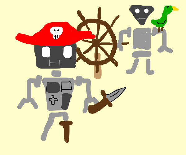 robo-pirates