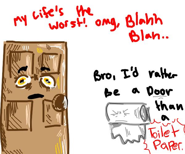 Door complaining