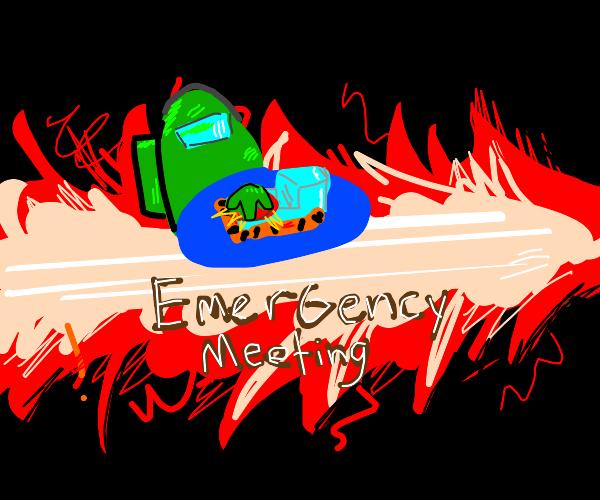 EMERGENCY MEETING - Among us
