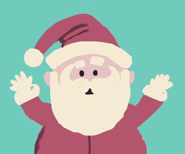 Confused Santa
