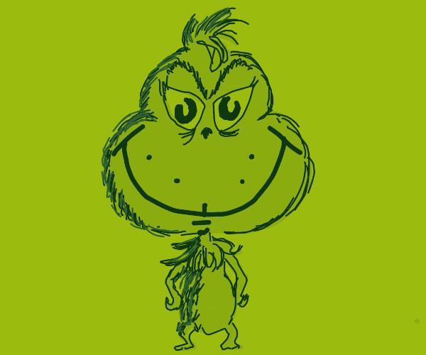 The Grinch Gets a Big Head