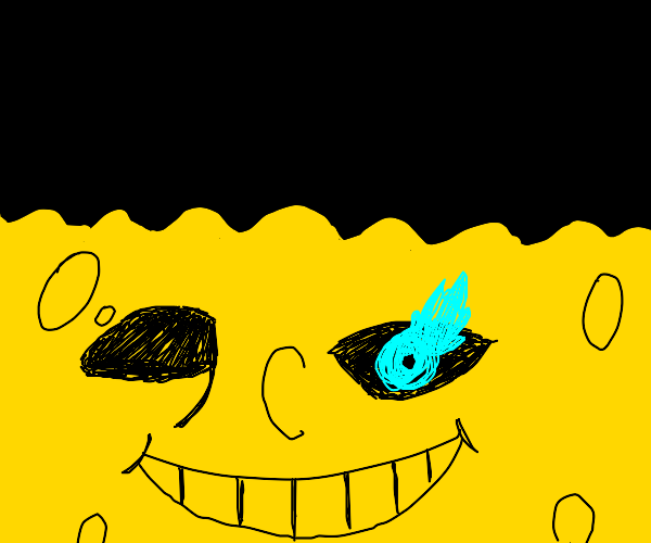 spongebob was sans all the time!