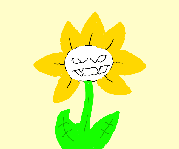 Flowey the friendly flower