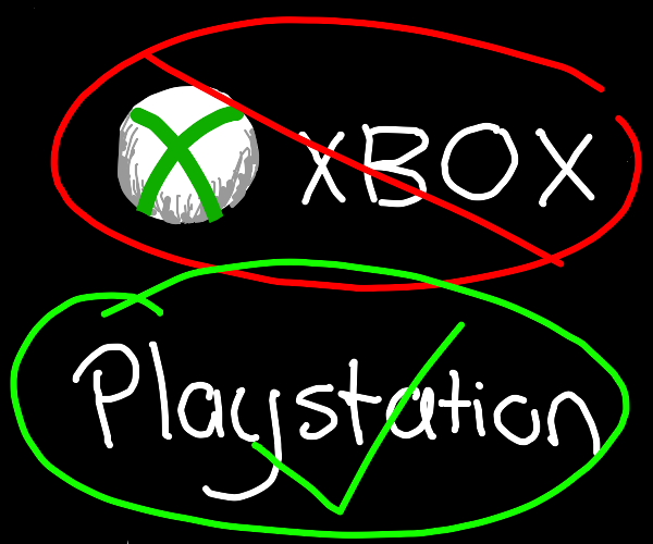 XBox is better than Playstation