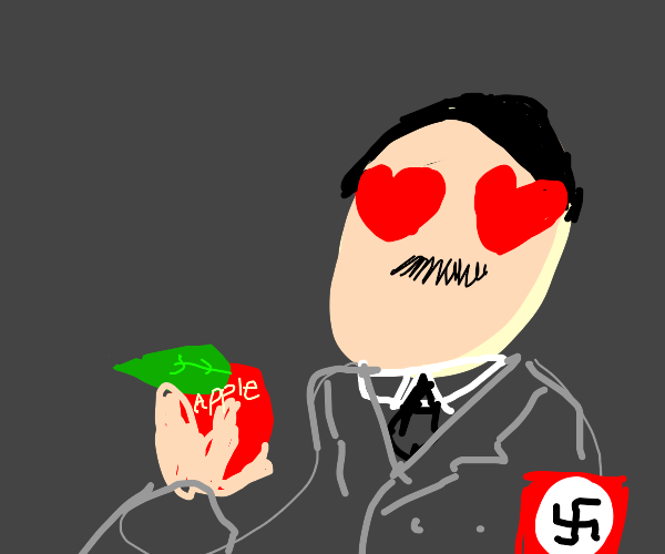 Hitler falls in love with an apple