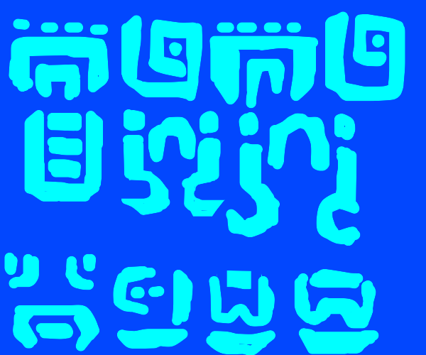 nonsense symbols