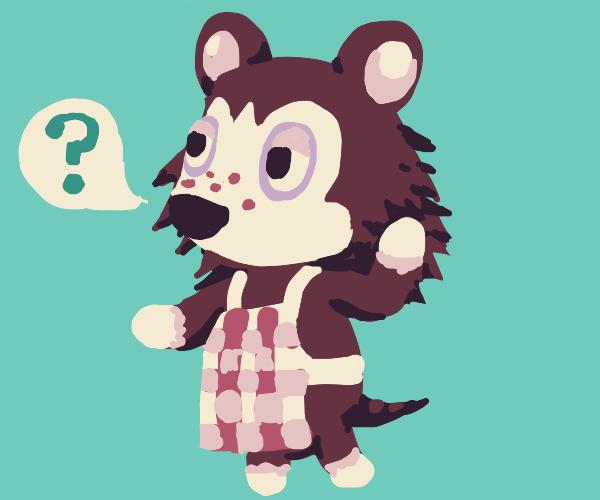Animal Crossing animal says what?
