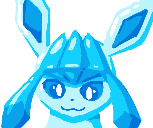 Glaceon's Shiny Head