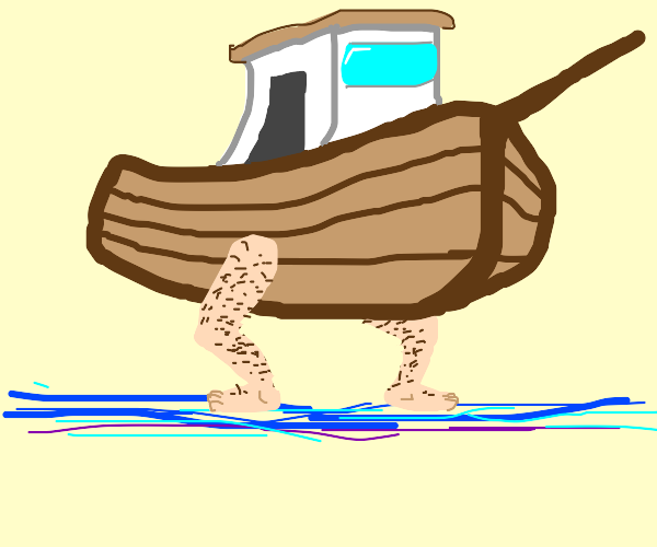Boat with Legs