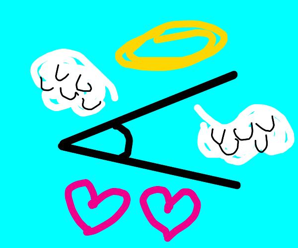 acute angel