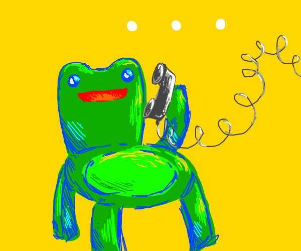 The Froggy Chair is calling. . .
