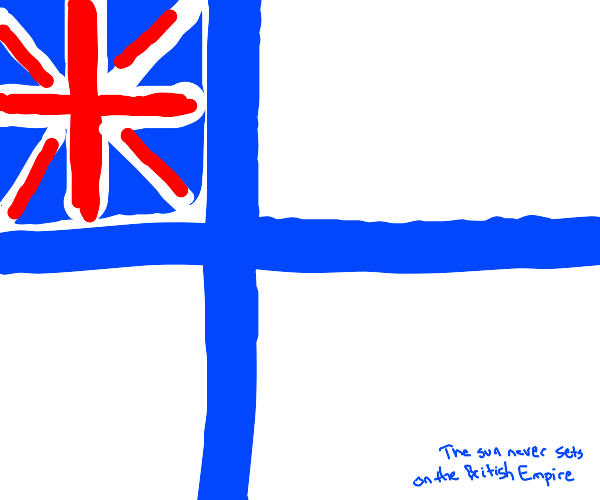 Something is wrong with a european flag